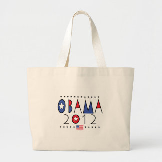 President Barack Obama 2012 Gear Jumbo Tote Bag
