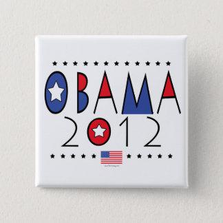 President Barack Obama 2012 Gear Button