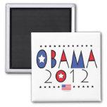 President Barack Obama 2012 Gear Fridge Magnets