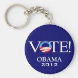 President Barack Obama 2012 Keychains