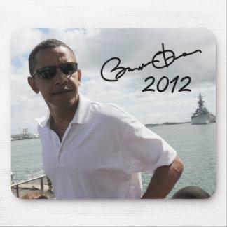 President Barack Obama 2012 Mouse Pad