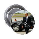 President Barack Obama 2012 Pin
