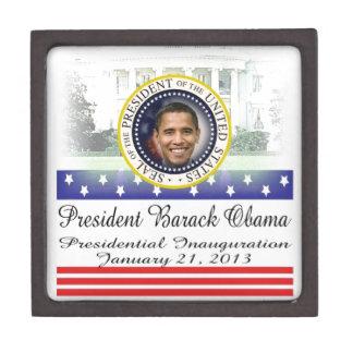 President Barack Obama 2013 Inauguration Jewelry Box