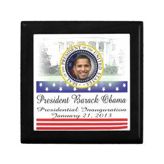 President Barack Obama 2013 Inauguration Keepsake Box