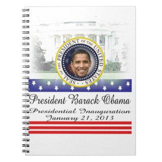 President Barack Obama 2013 Inauguration Notebook