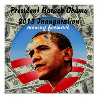 President Barack Obama 2013 Inauguration Poster