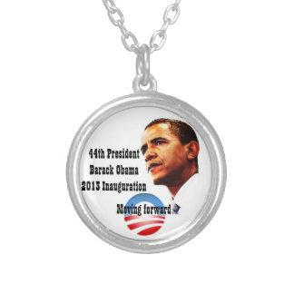 President Barack Obama 2013 Inauguration Round Pendant Necklace