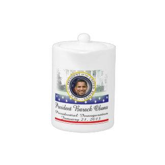 President Barack Obama 2013 Inauguration Teapot