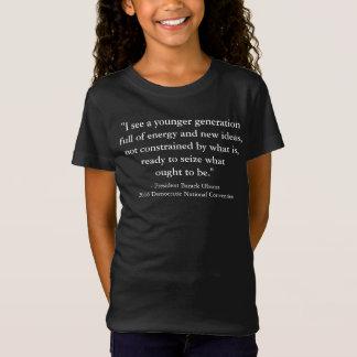 President Barack Obama 2016 DNC Quote T-Shirt