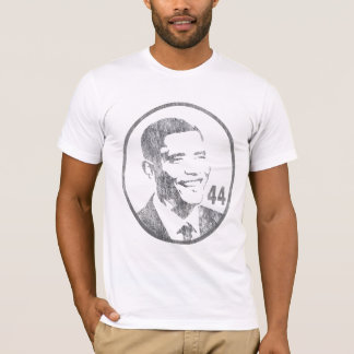 President Barack Obama - 44 - Gray... - Customized T-Shirt