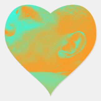 President Barack Obama 4aa Heart Sticker