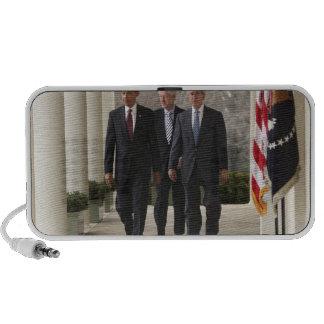 President Barack Obama and former presidents Laptop Speaker