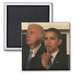 President Barack Obama and Vice President Magnet