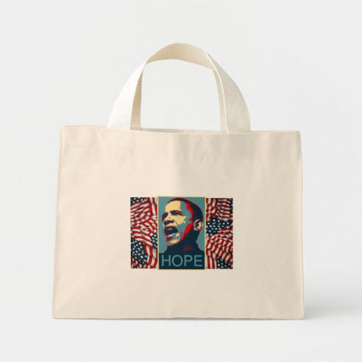 President barack Obama-Black History month Mini Tote Bag