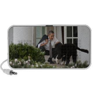 President Barack Obama & Bo Mini Speaker