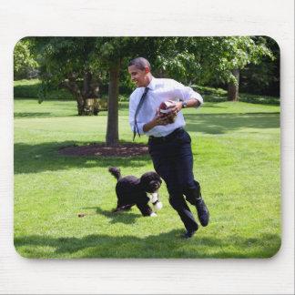 President Barack Obama & Bo Mousepad