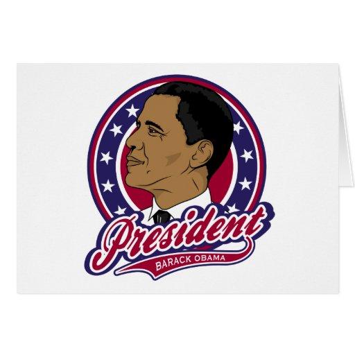 President Barack Obama Card