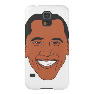 President Barack Obama Cartoon Face Case For Galaxy S5
