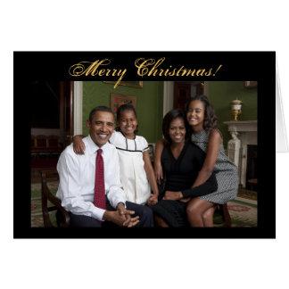 President Barack Obama Christmas Cards