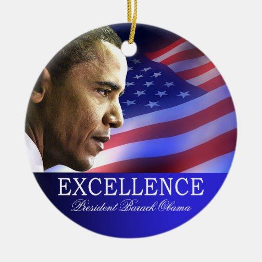 President Barack Obama Christmas Ornament | Zazzle.com