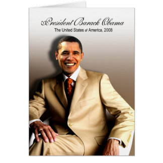 President Barack Obama (Classic) Greeting Cards