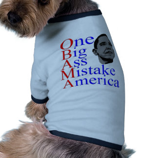 President Barack Obama Design Doggie T Shirt