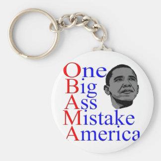 President Barack Obama Design Keychain