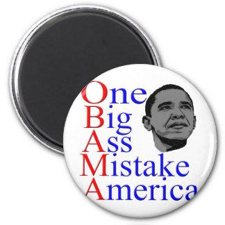 President Barack Obama Design Magnet