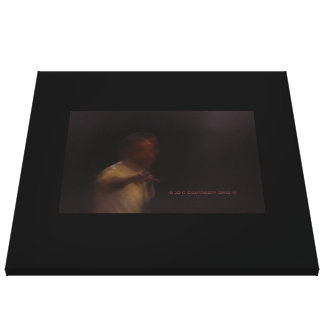 President Barack Obama Framed Signature Point 2012 Canvas Print