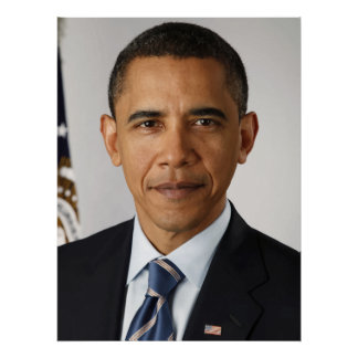 President Barack Obama -- In Color Poster