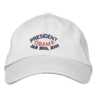 PRESIDENT BARACK OBAMA INAUGURATION BASEBALL CAP