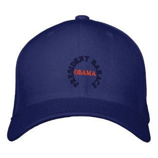 PRESIDENT BARACK OBAMA INAUGURATION EMBROIDERED BASEBALL CAP