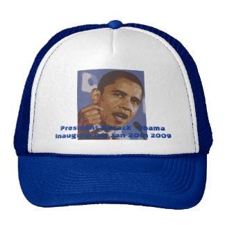 President Barack  Obama Inauguration Jan 20th 2009 Trucker Hat