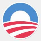 President Barack Obama Logo Stickers
