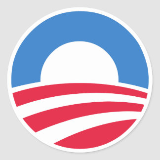 President Barack Obama Logo Stickers