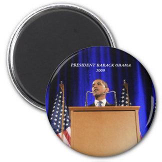 President Barack Obama 2 Inch Round Magnet