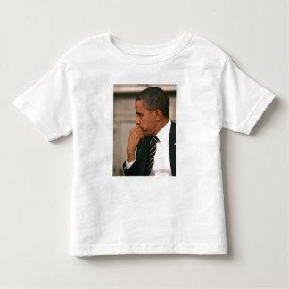 President Barack Obama meets with President Toddler T-shirt