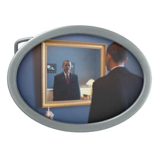 President Barack Obama Oval Belt Buckle