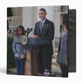 President Barack Obama pardons the Vinyl Binders