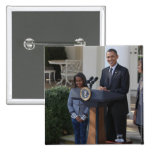 President Barack Obama pardons the 2 Inch Square Button