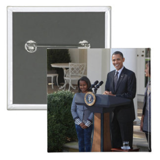 President Barack Obama pardons the Button