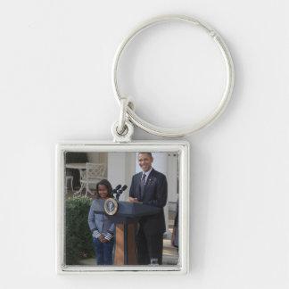 President Barack Obama pardons the Key Chains