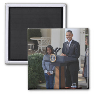 President Barack Obama pardons the Magnet