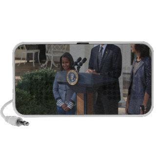 President Barack Obama pardons the Travel Speakers