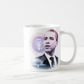 President Barack Obama Portrait Coffee Mug
