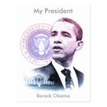 President Barack Obama Portrait Postcard