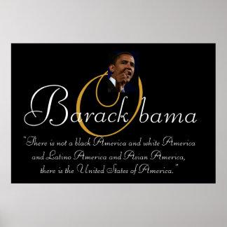 President Barack Obama QUOTE Poster