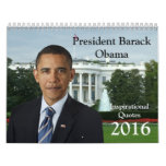 President Barack Obama Quotes 2016 Calendar