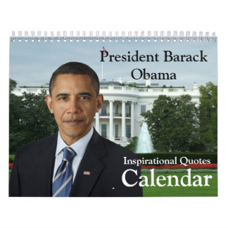 President Barack Obama Quotes Yearly Calendar