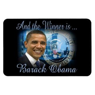 President Barack Obama Re-election Large Rectangular Photo Magnet